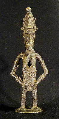 Old Bronze Dogon Mali  Woman - Mujer Bronce Arte Africano