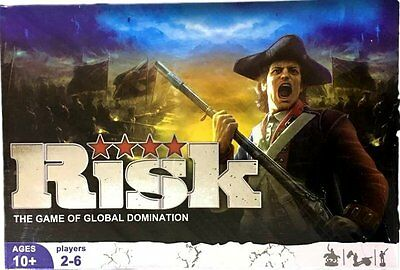 New Risk The Game of Global Domination Risk Board Game