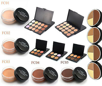 New Cosmetic Face Eye Cover Cream Makeup Nake Concealer Foundation Stick Palette