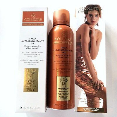 OFFERTA COLLISTAR SPRAY AUTOABBRONZANTE 360° ABBRONZATURA SENZA SOLE - 150 ml