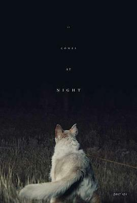 It Comes at Night Movie POSTER 27 x 40 Joel Edgerton, Christopher Abbott, B, NEW