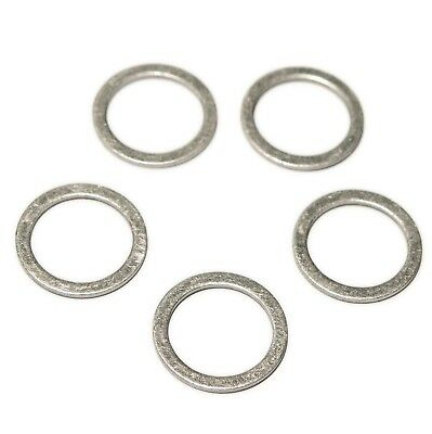 Porsche Boxster 996 997 Cayman 5(Five) Sump Washers OE Repl 900 123 106 30 SW8X5