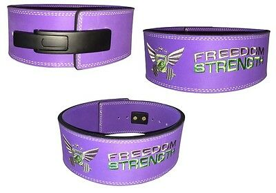 Freedomstrength® pro lever lock powerlifting weightlifting belt. IPF