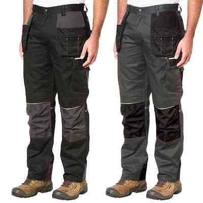 Caterpillar 1810002 Skilled Ops Mens Work Cargo Trousers Polycotton Combat Pants