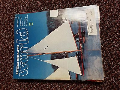 1979 National Geographic World Magazine Entire Year of 12 different issues