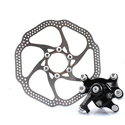New 160mm Bike Mechanical Rear Disc Brake Caliper Hexagonal Screw Set Kit