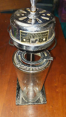 Mixall Chronmaster Drink Mixer Whipped Blender Vintage Kitchen 1934 WORKING