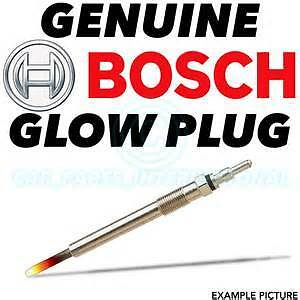 Peugeot Bipper Bosch Glow Plugs 1.4 HDI full set X4