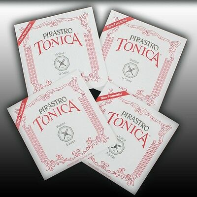 Pirastro Tonica 4/4-1/32 Violin Violine Violon Geige Saten SATZ Strings SET