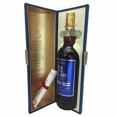 Kavalan Solist Vinho Barrique Cask Strength Single Malt Whisky 700mL