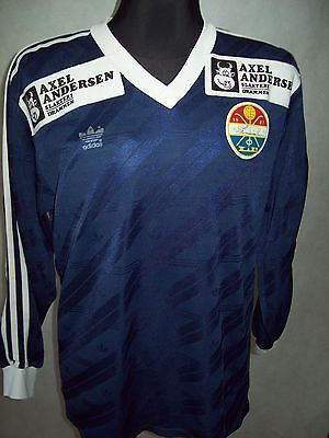 Stromsgodset IF 1987 1988 M L/S #13 matchworn Adidas good Condition + BONUS!