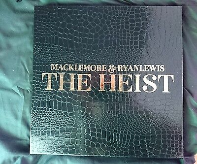 MACKLEMORE /RYAN LEWIS - THE HEIST (180g LP Vinyl Box Set) sealed