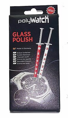 POLYWATCH Glass Polish - HighTech Kratzer Entferner für Glass 1g - Ideal für Uhr