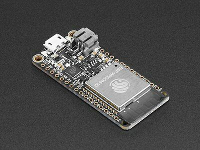 Adafruit Feather HUZZAH32 ESP32 WiFi & Bluetooth IoT WROOM32 Board  - Arduino