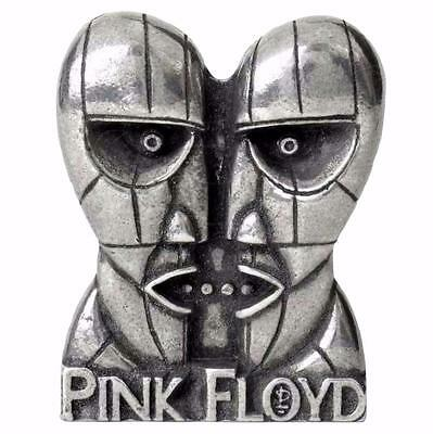 PINK FLOYD DIVISION BELL METAL PIN BADGE Alchemy Rocks Brooch Pewter OFFICIAL