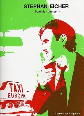 Partition guitare voix piano - Eicher stephan - Taxi europa