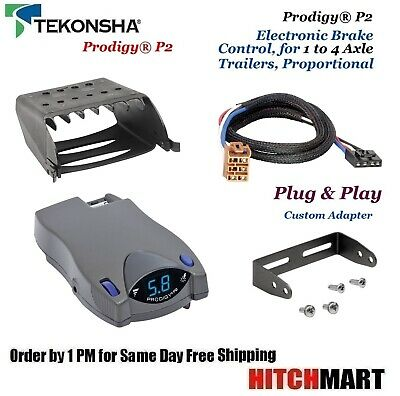 Prodigy Brake Controller >> Prodigy P2 Brake Controller W Custom Adapter For Silverado