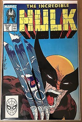 The Incredible Hulk #340 ⭐️ McFarlane Cover ⭐️ FN- ⭐️ Marvel