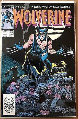 Wolverine #1 ⭐️ 1st First Patch ⭐️ VF ⭐️ Marvel Comics
