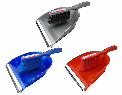 Handheld Plastic Dustpan Dust Pan And & with Brush Set Dust Pan Home Cleaning