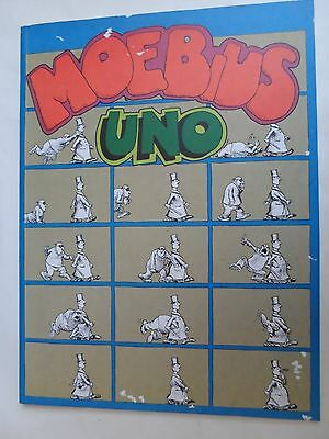 Moebius Uno   Collana New Comics Now  Volume 9   Edizioni Comic Art 1979   Raro