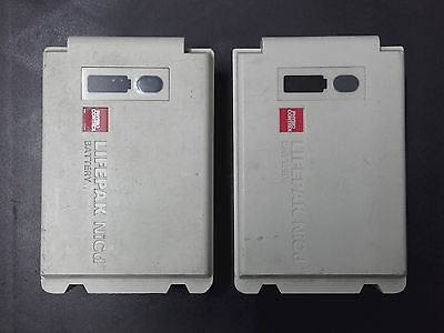 Set of 2 Lifepak 12 rechargeable NiCd Battery by Physio-control with Warranty