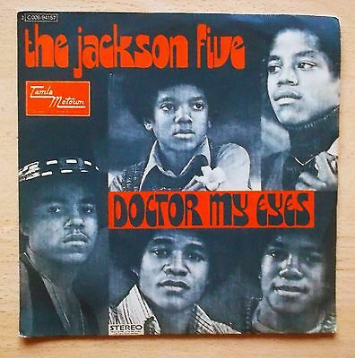 "THE JACKSON FIVE  Doctor My Eyes 45 Giri 7"" Michael Jackson 1973"
