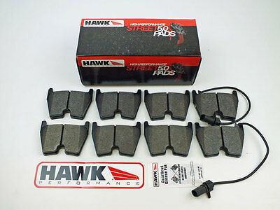 Audi RS4, RS5, RS6 & R8 Front Fast Road Hawk HPS 5.0 Brake Pads