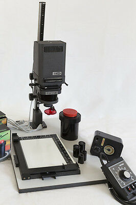 Photography darkroom Equipment - Meopta Axomat 5 Enlarger, Viponel S15 and more.