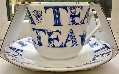 Roy Kirkham Fine Bone China Jumbo Breakfast Tea Cup and Saucer English Tea New
