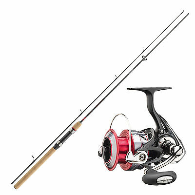 Forellen Angelset Combo - Daiwa Angelrute & Angelrolle Set - Angeln NO.2