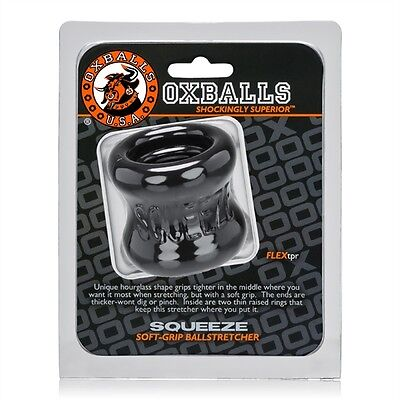 """Oxballs TPR Squeeze 2"""" Ball Stretcher 3 Colours NEW"""