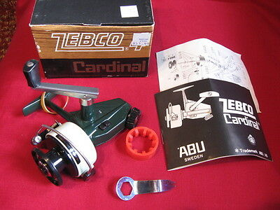 Vintage ZEBCO Cardinal 4 Spinning Reel - RARE New In Box