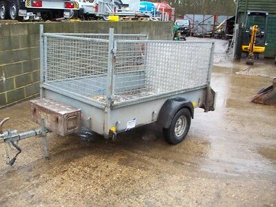 Ifor Williams P6E Trailer With Ramped Tailgate