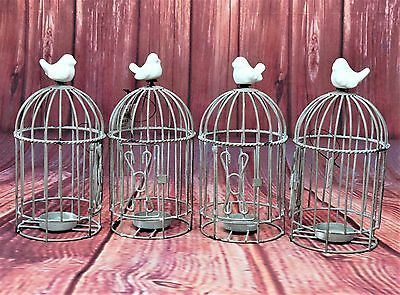 CLEARANCE Bulk Sale Wedding Shabby Chic Bird Cage Candle Holder RRP £470 40 PCS