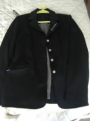 john whittaker soft shell diamonte show jacket size 10