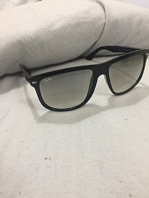 Ray-Ban Men's Gradient RB4147 Black Square Sunglasses - WITH CASE