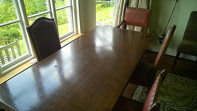 Jaycee Oak Dining Table and 5 Chairs