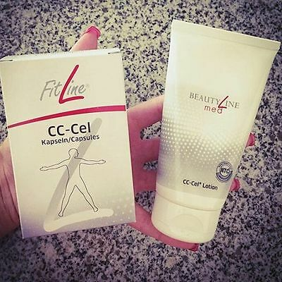 Fitline CC-Cel Plus Capsule  + FitLine med CC-Cel Lotion Plus! ADDIO CELLULITE!!
