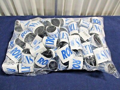 Lot of 100 Rollens Disposable Wraparound Protective Eye Lenses Sunglasses NEW