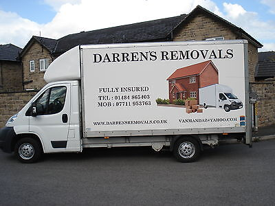 Man With Van For Hire Huddersfield