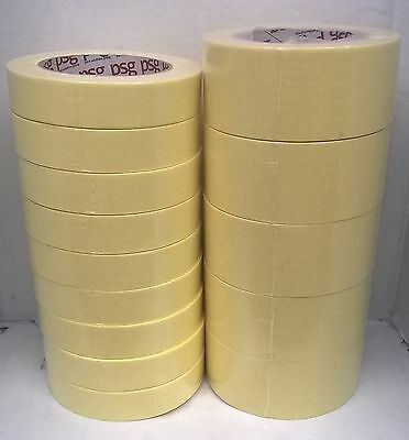 """2 Sleeves of Professional Car Body Masking Tape PSG 1"""" & 2"""" or 24 mm & 48 mm"""