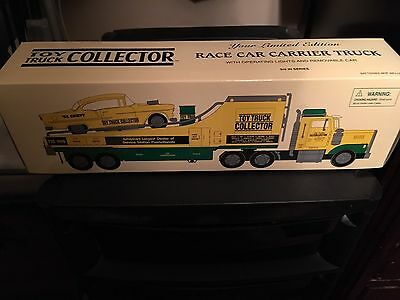 Toy Truck Collector Race-car Carrier Truck W/ Operating Race-car Limited Edition