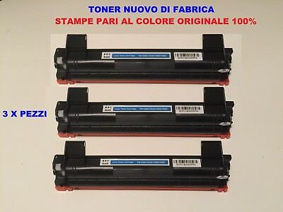 3 Toner Per Brother Mfc1910  Mfc1910W Compatibile Originale Tn1050 Nuovo