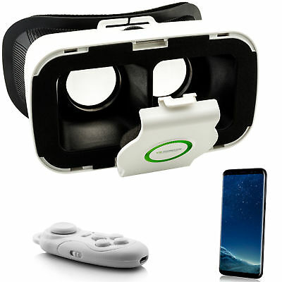 Virtual Reality 3D VR Brille für Samsung Galaxy S5 S6 S7 Edge S8 + A3 A5 A7 2017