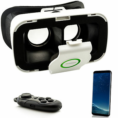 VR 3D Brille Virtual Reality für Samsung Galaxy S5 S6 S7 Edge S8 + A3 A5 A7 2017