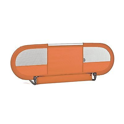 BabyHome Baby Child Nursery Safety Secure Side Bed Rail Bar Orange Baby Home