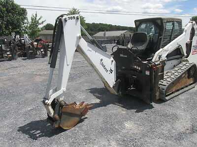 Bobcat 709 Backhoe Attachment for Skid Steer Loaders!