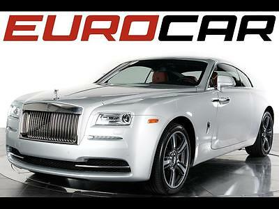 2014 Rolls-Royce Other Base Coupe 2-Door 2014 Rolls-Royce Wraith - Remaining Factory Warranty, Hotspur Red Interior