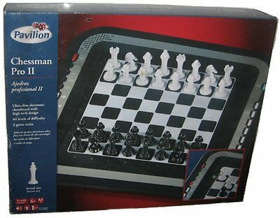Chessman Pro II Professional Electronic Chess Board Game - (Pavilion Toys R Us)